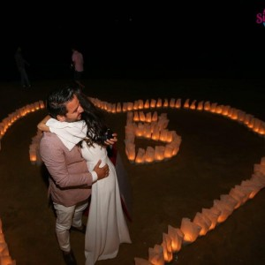 Marriage Proposal Package on the Beach / Eco Package