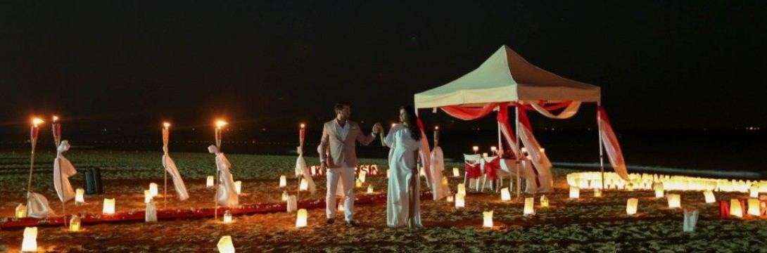 Marriage Proposal On The Beach Package/VIP Package