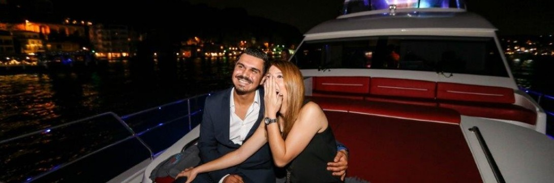Marriage Ceremony On Yacht / 2 Hour VIP Package with Dinner and Laser