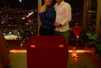 A Romantic Marriage Proposal at Sapphire - 860