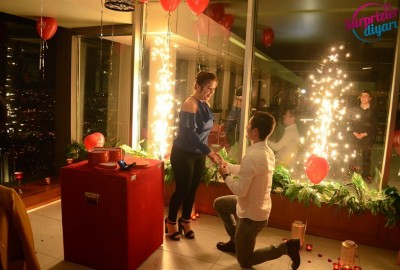 A Romantic Marriage Proposal at Sapphire - 861