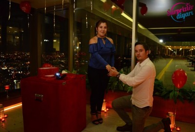 A Romantic Marriage Proposal at Sapphire - 863