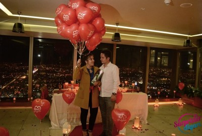 A Romantic Marriage Proposal at Sapphire - 866