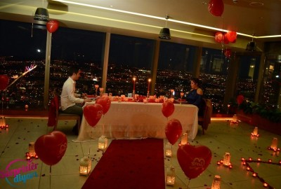 A Romantic Marriage Proposal at Sapphire - 858