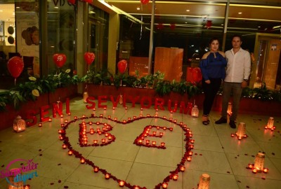 A Romantic Marriage Proposal at Sapphire - 859