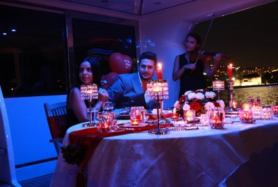 Laser Marriage Proposal On Yacht Dilan & Firat - 1017