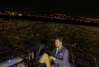 Laser Marriage Proposal On Yacht Dilan & Firat - 1011