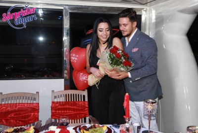 Laser Marriage Proposal On Yacht Dilan & Firat - 1023