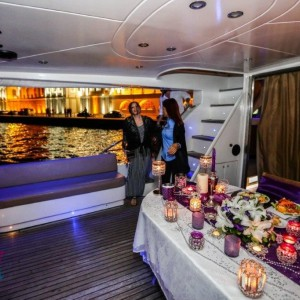 Land of Surprises Marriage Proposal Special Packages On Yacht with Color Laser Light