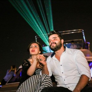 Marriage Proposal on Yacht with Color Laser / 1 hour VIP Package wi̇th Dinner