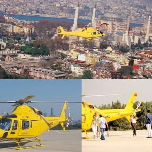 Helicopter Tour and Çırağan Palace Dinner Marriage Proposal