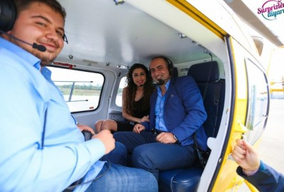 Marriage Proposal on a Helicopter - 1323