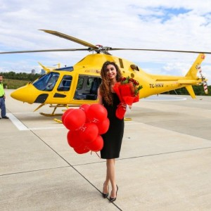 Helicopter Marriage Offer in Ankara