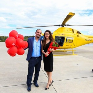 Marriage Proposal on Helicopter Tour / 20-Minute Eco Package