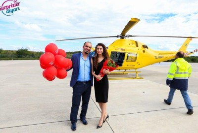 Marriage Proposal on a Helicopter - 1326