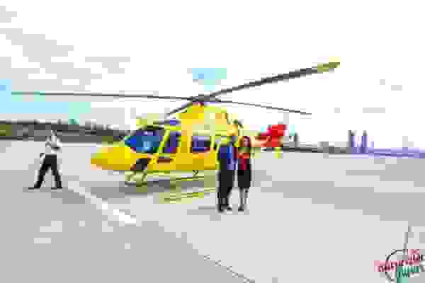 Marriage Proposal with Helicopter in Izmir