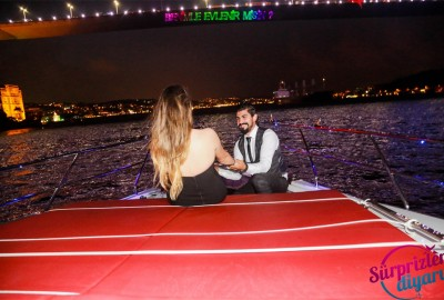 Yacht Tour Laser Marriage Proposal Taner & Hilal - 1366