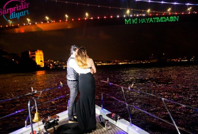 Yacht Tour Laser Marriage Proposal Taner & Hilal - 1368