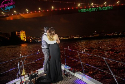 Yacht Tour Laser Marriage Proposal Taner & Hilal - 1369