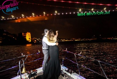 Yacht Tour Laser Marriage Proposal Taner & Hilal - 1370