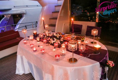 Yacht Tour Laser Marriage Proposal Taner & Hilal - 1359