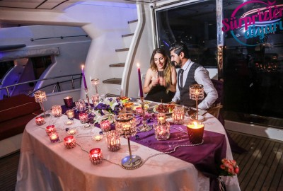 Yacht Tour Laser Marriage Proposal Taner & Hilal - 1360