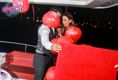 Yacht Tour Laser Marriage Proposal Taner & Hilal - 1363