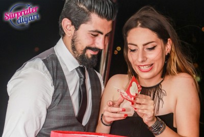 Yacht Tour Laser Marriage Proposal Taner & Hilal - 1364