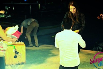 Surprise Marriage Proposal with Bunny Fortune Teller - 1451