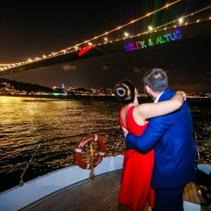 Your laser light marriage proposal video and photos are very nice, is the laser light really seen so powerful?