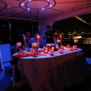 What is the Price of Laser Light Marriage Proposal Organization on Yacht Starting from?