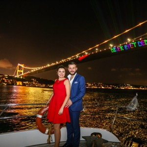 What are the places to propose in the Bosphorus?