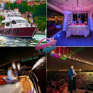 Marriage Proposal Organization on the Boat