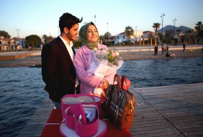 İzmir'de Sürpriz Evlilik Teklifi