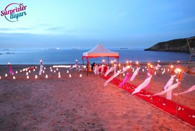 Kumsalda Evlilik Teklifi - 2013