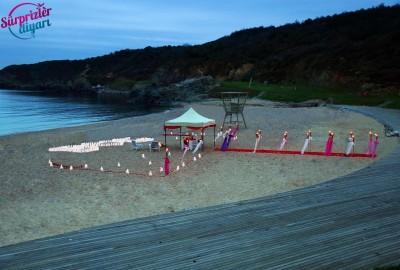 Kumsalda Evlilik Teklifi - 2015