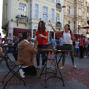 Drone Marriage Proposal in İzmir