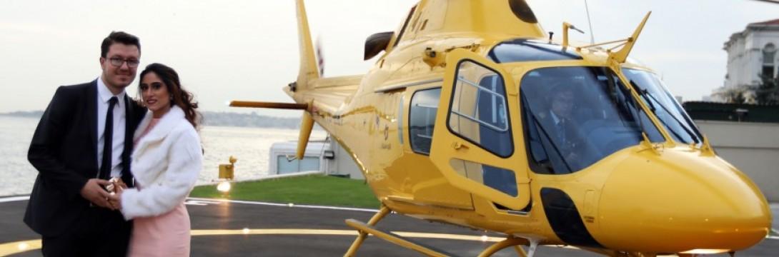 Helikopterde Evlilik Teklifi Paketleri
