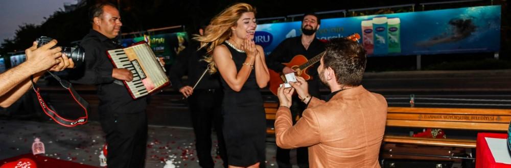 Ankara Orkestra İle Evlilik Teklifi