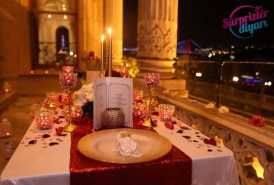 Çırağan Sarayı'nda Romantik Evlilik Teklifi - 2031