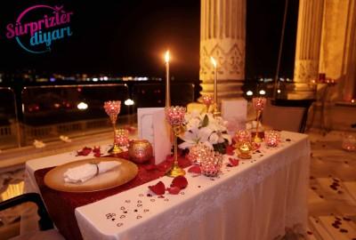 Çırağan Sarayı'nda Romantik Evlilik Teklifi - 2033