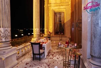 Çırağan Sarayı'nda Romantik Evlilik Teklifi - 2035