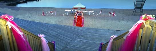 Kumsalda Evlilik Teklifi / Vip Paket