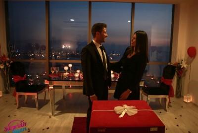 İzmir'de Romantik Evlilik Teklifi - 2159
