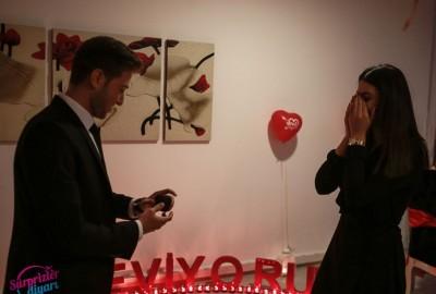 İzmir'de Romantik Evlilik Teklifi - 2150