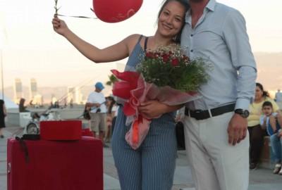 İzmir Karşıyaka'da Orkestra İle Evlilik Teklifi - 2169