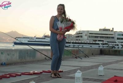 İzmir Karşıyaka'da Orkestra İle Evlilik Teklifi - 2172