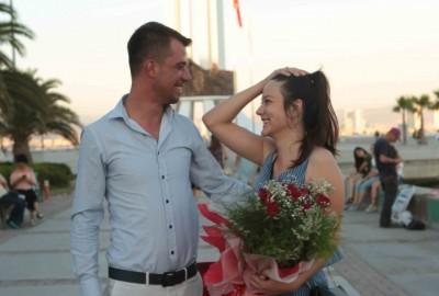 İzmir Karşıyaka'da Orkestra İle Evlilik Teklifi - 2166