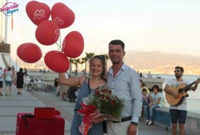 İzmir Karşıyaka'da Orkestra İle Evlilik Teklifi - 2168