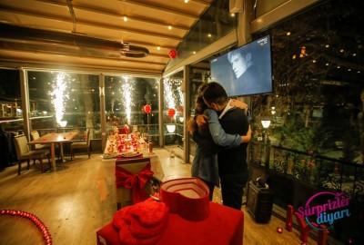 Kuğulu Park'ta Romantik Evlilik Teklifi - 2238